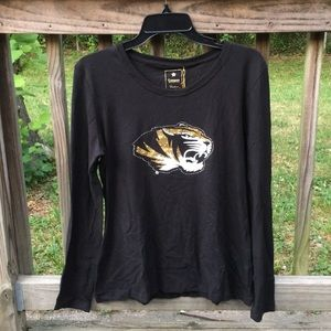 NEW Mizzou Tigers Campus Couture Top
